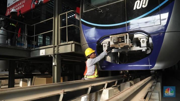 Asyik! Proyek MRT Jakarta Sudah 96%, Siap Operasi Awal 2019