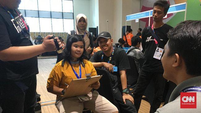 Temanku Lima Benua, Si Pelukis Cepat di Asian Para Games 2018