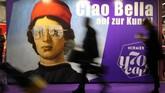 Frankfurt Book Fair 2018 telah dibuka pada 9 Oktober lalu. Tahun ini menjadi gelaran ke-70 pesta buku terbesar di dunia itu. (Daniel ROLAND / AFP)