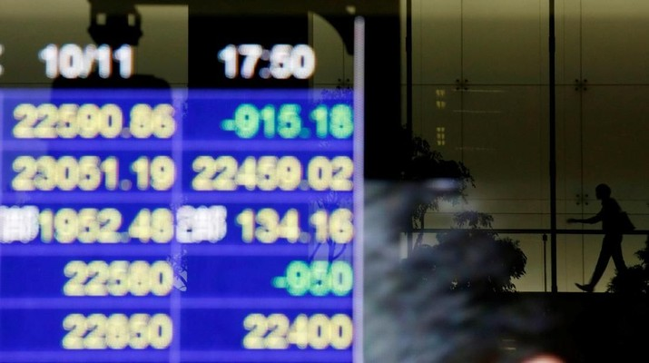 Investor Wait & See, Bursa Saham Asia Ditutup Bervariatif
