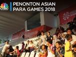 Mengintip Antusiasme Penonton Asian Para Games 2018