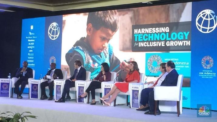 Melinda Gates mengatakan inovasilah yang membuat dunia ini berputar.