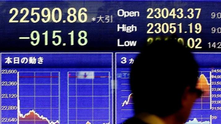 Perang Dagang Bisa Tereskalasi, Bursa Saham Asia Terkoreksi