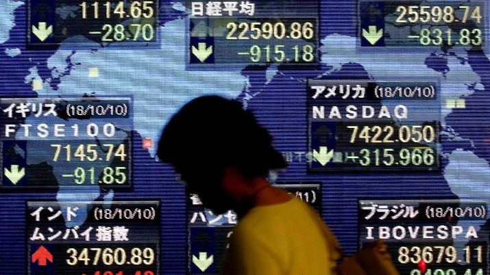 Investor Profit Taking, Bursa Jepang Ditutup Anjlok 2,02%
