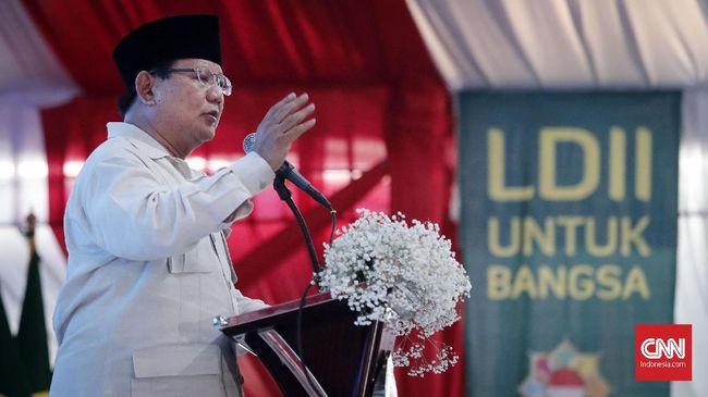 Prabowo: Tak Ada Ketum Partai Berani Bicara Pasal 33 UUD 1945