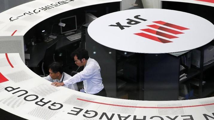 Gaung Resesi AS Kian Keras, Bursa Saham Asia Jeblok