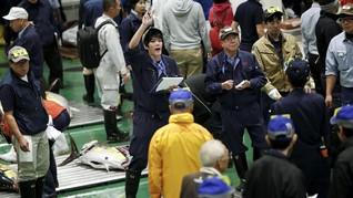 FOTO: Nuansa Baru Pasar Ikan Tsukiji 'Toyosu'