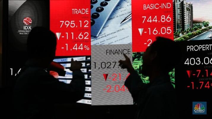 Berikut lima saham perusahaan yang harganya anjlok paling parah pekan ini: