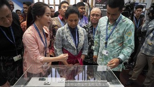 Total Nilai Barang Dagangan di Indonesia Pavilion Capai Rp8 M