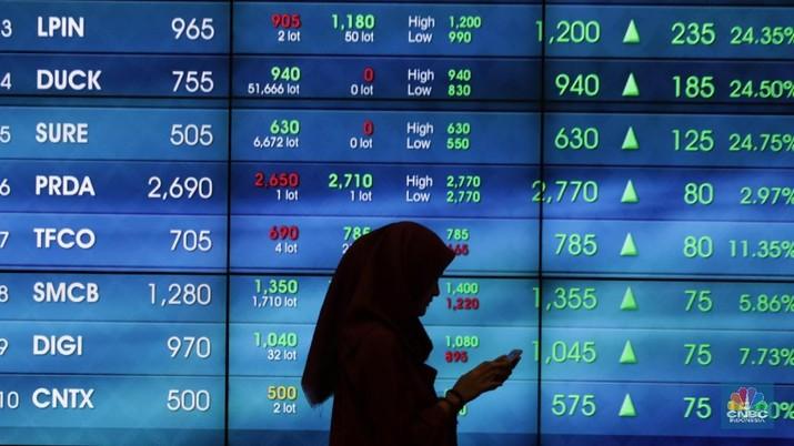 Banyak Sentimen Positif, Indeks Shanghai Dibuka Turun Tipis