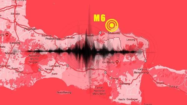 Gempa Situbondo M 6