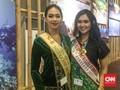 Pesona Dua Putri Kontes Kecantikan di Indonesia Pavilion