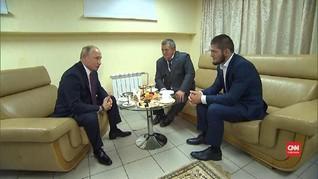 VIDEO: Putin Maklum dengan Aksi Khabib Usai Kalahkan Mcgregor