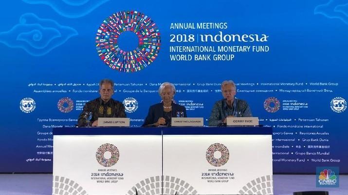 Ini Agenda Hari ke-6 IMF-World Bank Annual Meetings