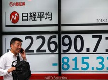 Tertular Wall Street, Bursa Tokyo Anjlok 2%