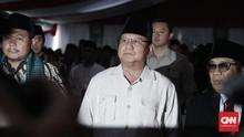 Prabowo Minta Perlindungan Tuhan di Hari Ulang Tahun