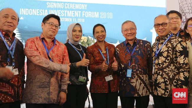 BUMN Teken Kesepakatan Investasi Rp202 T di Pertemuan IMF-WB