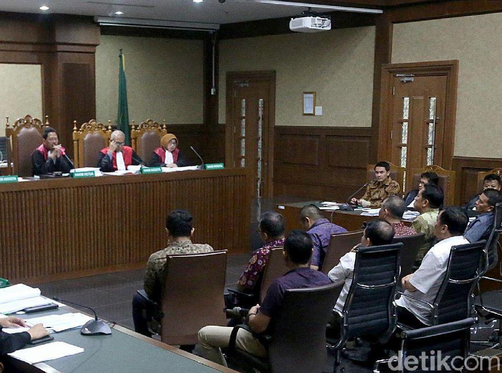 Dalam sidang lanjutan tersebut Jaksa Penuntut Umum (JPU) menghadirkan sembilan orang saksi.