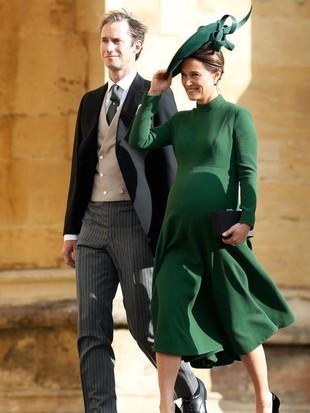 Pippa Middleton Melahirkan, Lihat Lagi Gaya Stylish-nya Saat Hamil
