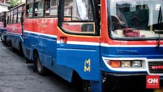 Dishub DKI Kandangkan Metromini Pengadang Bus TransJakarta