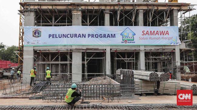 Anies Luncurkan Rumah DP Nol Rupiah Samawa di Pondok Kelapa
