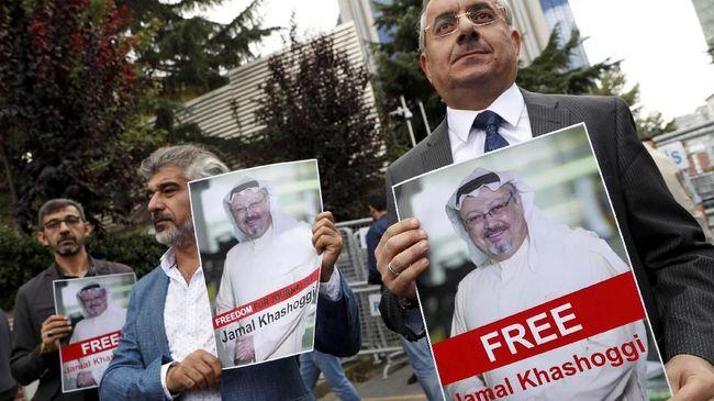 PBB, Inggris, Prihatin Soal Wartawan Saudi Hilang di Turki