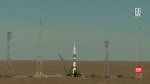 VIDEO: Soyuz Gagal Mengudara, Rusia Hentikan Peluncuran Lagi