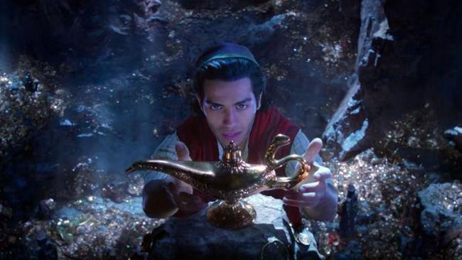 Lampu Ajaib Muncul di Cuplikan Perdana 'Aladdin'