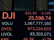 Dow Futures Masih Merah, Wall Street Dibayangi Koreksi
