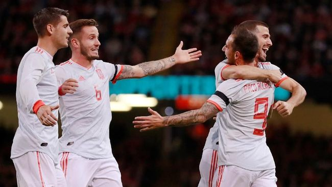 Spanyol Tekuk Wales 4-1
