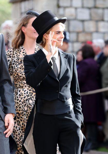 Foto: Gaya Supermodel Dunia Hadiri Pernikahan Putri Eugenie