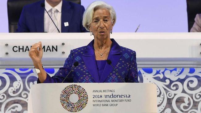 IMF Sebut Konflik Dagang 'Baru' AS-China Ancam Ekonomi Dunia