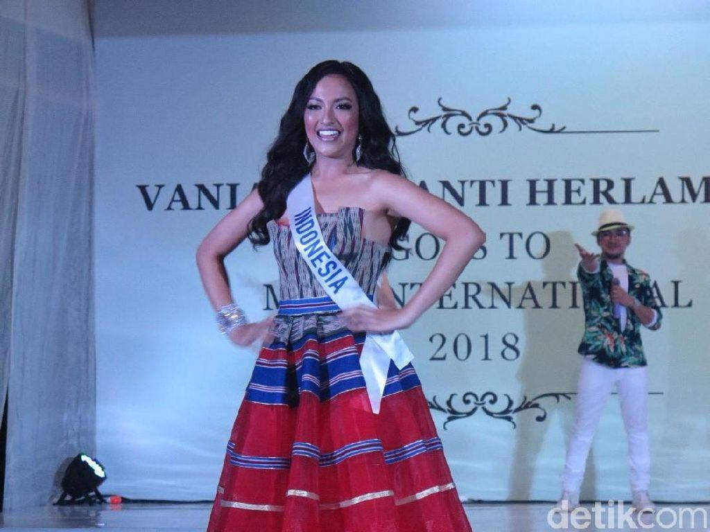 Cantiknya Vania Fitryanti, Wakil Indonesia di Miss International 2018