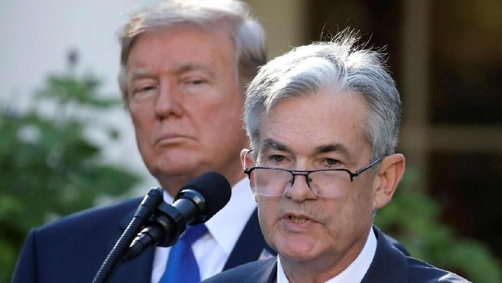 Trump dan Bos The Fed Bertemu, Bahas Resesi?