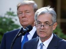 The Fed Sebut Kebijakan Trump Ancam Pertumbuhan