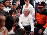 Kunjungi Lokasi Gempa Palu, Sekjen PBB Puji Ketangguhan Warga