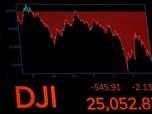 Tarif Baru Resmi Cekik AS-China, Wall Street Dibuka Anjlok