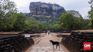 FOTO: Cerita Sigiriya dan Tiga Tamannya