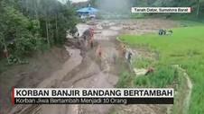 Korban Banjir Bandang Bertambah