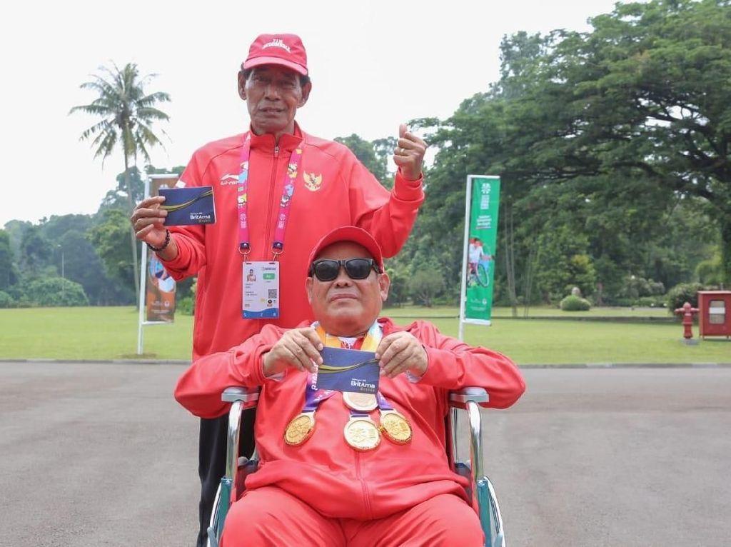 Kebahagiaan Atlet Para Games Terima Bonus dari Jokowi
