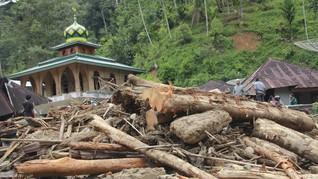 Banjir Sumut, Wagub Janji Infrastruktur Segera Diperbaiki