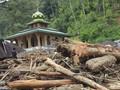 Banjir Terjang 9 Kecamatan di Mandailing Natal, 1 Desa Hanyut