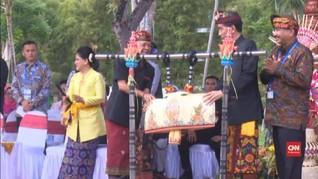 VIDEO: Jokowi Resmikan Parade Budaya Bali