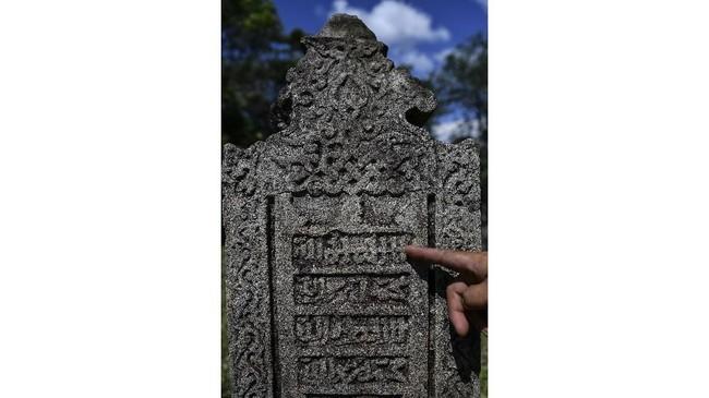 Dari data tersebut menurutnya dapat ditarik kesimpulan bahwa Islam telah masuk ke Barus sekitar abad ke 7 Masehi. (ANTARA FOTO/Sigid Kurniawan).
