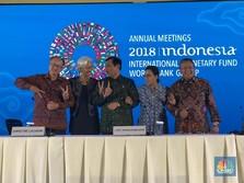 IMF-WB Annual Meetings Resmi Ditutup dengan Pujian untuk RI