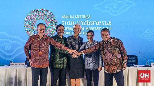 Luhut Sebut Pose Jari IMF-World Bank Terkait Indonesia Satu