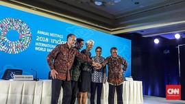 Polemik Pose Satu Jari Bos IMF dan Presiden Bank Dunia