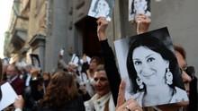 Tersangka Pembunuh Jurnalis Malta Tak Kunjung Diadili