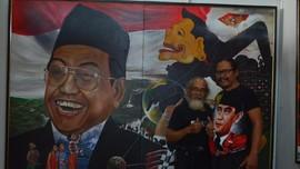 Menyatukan Jawa Timur dalam Lukisan di Pasar Seni Lukis