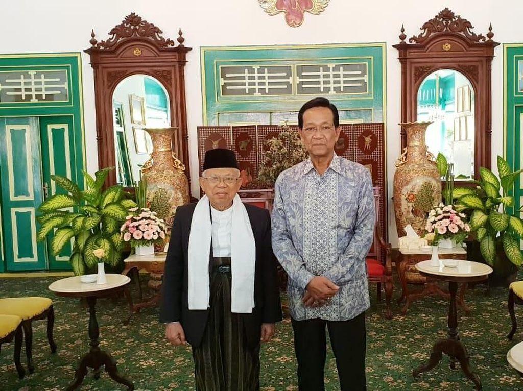 Foto: Maruf menjelaskan, dalam pertemuan tersebut Sultan berharap penerapan demokrasi jangan sampai merusak nasionalisme. Sultan juga berharap keutuhan bangsa tetap bisa dijaga dan dipelihara. (Dok Istimewa).